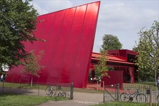 Red Sun Pavilion, Serpentine Gallery