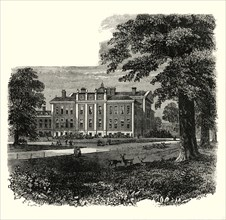 'Kensington Palace, from the Gardens'