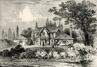 'Mrs Siddons' House at Westbourne Green, 1800'