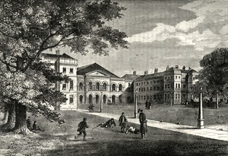 'Front of the Foundling Hospital', c1876