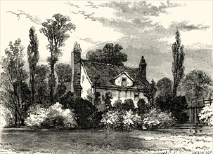 'Claude Duval's House, in 1825'