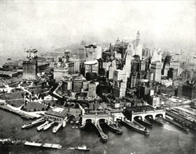 'The City of New York as seen from the air',1936