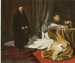 Seni with the body of Wallenstein, 26 February 1634