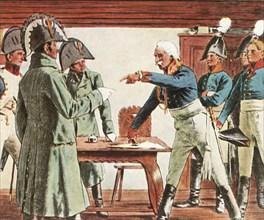 Blücher surrenders near Ratkau, 7 November 1806
