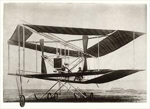 The Edwards Rhomboidal biplane, c1911