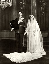 The marriage of Princess Mary and Viscount Lascelles, 28 February 1922
