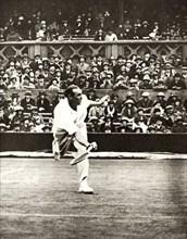 Tennis match on Centre Court at Wimbledon, c1930s