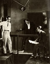 "Filming ""City of Play"",1928"