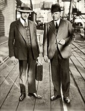 Thornton and MacDonald released after the Metro-Vickers Affair,1933