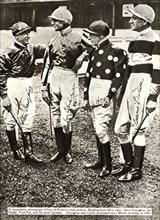 British jockeys,1934