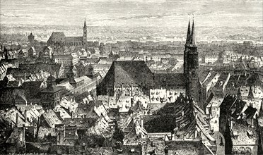 'Nuremberg from the Walls',1890