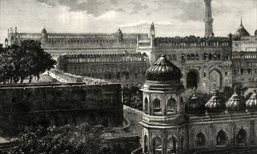'View of the Great Imambara, Lucknow'