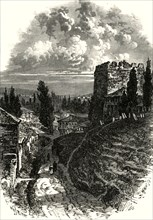 'The Old Walls, Constantinople'