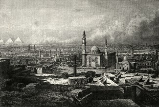'General View of Cairo',1890
