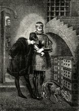 'Louis XI Visiting Cardinal Balue in the Iron Cage', (1469-1481)