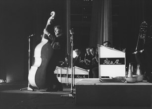 Johnny Hawksworth with Ted Heath and His Music, Nat King Cole concert, London, 1963. Creator: Brian Foskett.