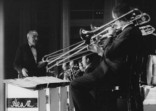 Ted Heath and His Music, Nat King Cole concert, Shepherd's Bush, London, 1963 Creator: Brian Foskett.