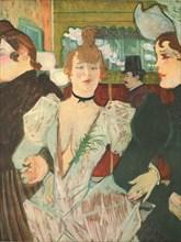 'La Goulue at the Moulin Rouge', 1892, (1952).  Creator: Henri de Toulouse-Lautrec.