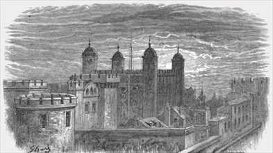 'Tower of London', 1872.  Creator: Gustave Doré.