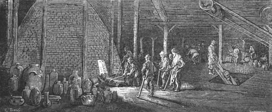 'Lambeth Potteries', 1872.  Creator: Gustave Doré.