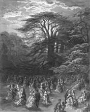 'A Chiswick Fete', 1872.  Creator: Gustave Doré.