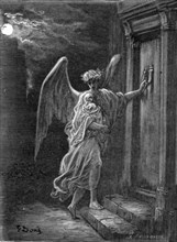 'The Angel and the Orphan', 1872.  Creator: Gustave Doré.