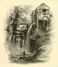 'Old Mill, Sage's Ravine', 1874.  Creator: John J. Harley.