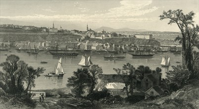 'Quebec', 1874. Creators: Robert Hinshelwood, John Douglas Woodward.