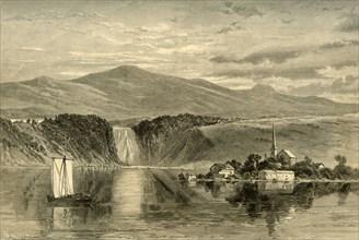 'Falls of Montmorency', 1874.  Creator: W. Roberts.