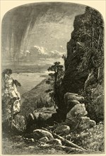 'Lake Memphremagog, South from Owl's Head', 1874.  Creators: John Douglas Woodward, W. J. Linton.