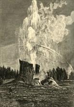 'The Giant Geyser', 1872.  Creator: W. J. Linton.