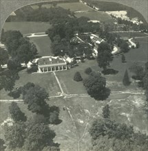 'A Nation's Shrine from the Air - Home of Washington, Founder of the Republic, Mt. Vernon, Va.', c19 Creator: Unknown.