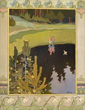 Illustration to the fairytale The White Duck, 1901. Creator: Bilibin, Ivan Yakovlevich (1876-1942).