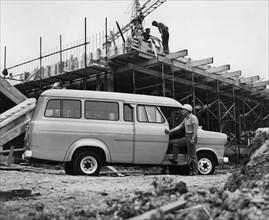 1970 Ford Transit crewbus. Creator: Unknown.