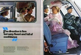 1973 Ford Transit Van advertising brochure. Creator: Unknown.