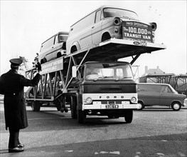 100,000th Transit van is delivered 1968. Creator: Unknown.