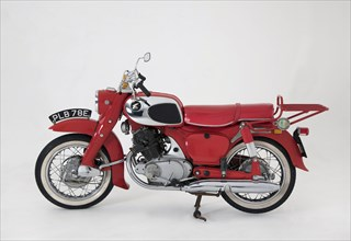1967 Honda C77 motorcycle. Creator: Unknown.