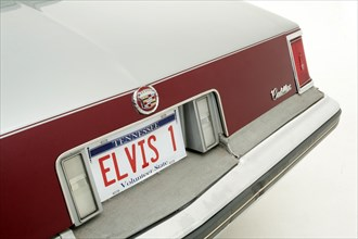 1977 Cadillac Seville owned by Elvis Presley. Creator: Unknown.