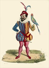 The dwarf of the Duc de Guise, (19th century?). Creator: de Frey.