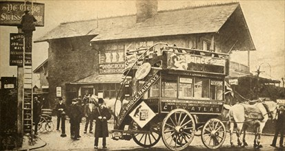 """'The """"Express"""" Bus', 1900, (1933).  Creator: Unknown."""