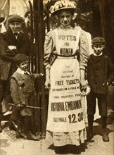 'The Suffragette Housemaid' 1908, (1933).  Creator: Unknown.