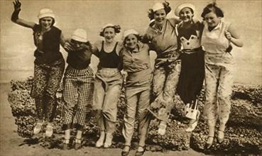 'Beach pyjamas', 1930, (1933).  Creator: Unknown.