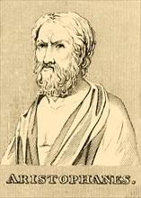 'Aristophanes', (c460-380 BC), 1830. Creator: Unknown.