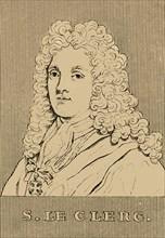 'S. Le Clerc', (1637-1714), 1830. Creator: Unknown.