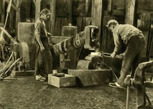Metalworkers, Styria, Austria, c1935. Creator: Unknown.
