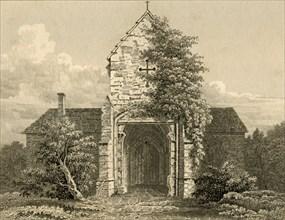 'Ewhurst Gateway', 1835. Creator: Unknown.