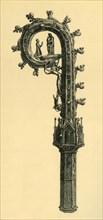 The Reichenau Crozier, 1351, (1881).  Creator: Frederick Albert Slocombe.