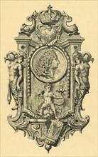 Steel key plate, early 18th century, (1881).  Creator: John Watkins.
