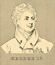 'George IV', (1762-1830), 1830. Creator: Unknown.