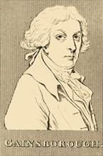 'Gainsborough', (1727-1788), 1830. Creator: Unknown.